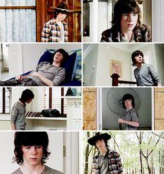 "The Walking Dead 5x12 ""Remember"" Carl Grimes"