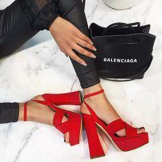 Sexy Heels, Shoes Heels, Chunky Heels, Block Heels, Open Toe, Ankle Strap, Platform, Style Inspiration, Retro