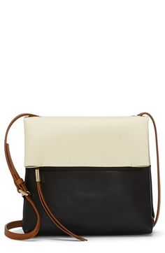 a76758ee2 Vince Camuto 'Tyler' Colorblock Leather Crossbody Bag | Nordstrom