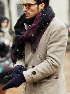 Winter streetstyle - For more like this follow us or visit our website and do not forget to repin!   #coat, #fall, #fall-winter, #fashion, #hespiration, #homme, #look, #lookbook, #male, #male model, #mensfashion, #mensstyle, #menswear, #model, #ootd, #oot