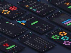 Hexagonal! for iOS - Dark Theme