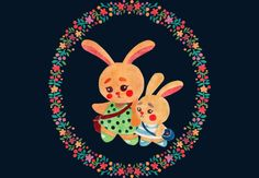 Bunny Sisters by haidishabrina