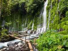 The enchanting Asik-asik Falls found in North Cotabato, Philippines.