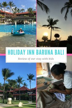 Our review of our stay at Holiday Inn Baruna Bali. All the info about staying with kids. #bali #baliwithkids #kuta #holidayinn Bali With Kids, Travel With Kids, Family Travel, Bali Family Holidays, Kid Friendly Resorts, Bali Accommodation, Hotels For Kids, Kuta Bali, All Family