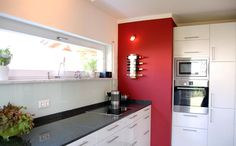 Küche im Fertighaus Top Line 220, klassisches Einfamilienhaus von Haas Haus