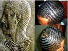 So over 5000 years ago Egyptians wore waves 🙌 Ancient Egyptian Cities, Egyptian Art, Ancient Artifacts, 360 Waves, African History, African Origins, African Culture, African Hairstyles, Black Power