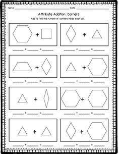 Pattern Block Posters