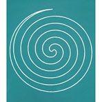 Stencil - Spiral Circle - 7 1/2