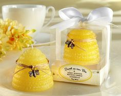 BABY_20100YL_Sweet_as_can_Bee_Candle_L