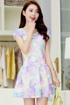Exquisite Floral Dress