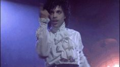 As does his love of neck frocks. | 31 Prince GIFs That Will Awaken Your Inner Thirst