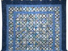 Storm at Sea Quilt -- marvelously made Amish Quilts from Lancaster PA (C Jean Horst)