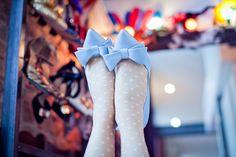 Escarpins bleus @eleonorebridge