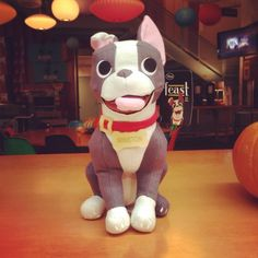 They made a Winston Plush from the New Disney Short Film featuring a Boston Terrier dog! Watch the Preview here ► http://www.bterrier.com/?p=25987