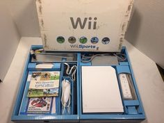 Nintendo Wii Sports Game Console, Complete w/ All Original Components, Working: $72.00 End Date: Monday Apr-16-2018 12:16:01 PDT Buy It Now…