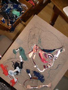 O Blog da DMC: Entrevista à artista Julie Sarloutte