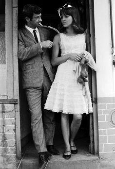 Jean-Paul Belmondo & Anna Karina