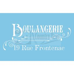 Pochoir  Boulangerie  ST-057 par CreationsCountryBear sur Etsy