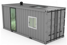 Build a container man cave for less than five grand