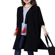 Elegant Embroidery Tassels Ethnic Cardigan #Coat #fashion&apparel