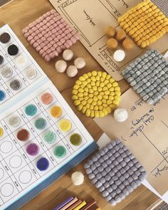 """W E A V E R on Instagram: """"〰️ THE DESIGN PROCESS // The fun part of any new year ~ planning new rug colours for the year ahead 🎨✨ This process usually involves allot…"""" New Year Planning, Crafts Beautiful, Design Process, Colorful Rugs, Colours, Fun, Instagram, Engineering Design Process, Hilarious"""