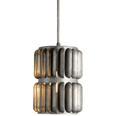 The Turbina Pendant was inspired by a wind turbine. Industrial -styled products mix well in many interiors and bring to the home environment a sense of back-to- the-basics. Repurposing and authenticity are essential to the industrial chic trend. by Currey and Company.