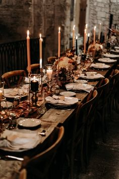 The Lane's Favorite Real Wedding Details - Style Guide The Lane Wedding Dinner, Wedding Table, Rustic Wedding, Speakeasy Wedding, Autumn Wedding, Wedding Reception, Hogwarts, Slytherin, Eclectic Wedding