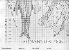 Evolution of Fashion: Romantic Era 1830 of
