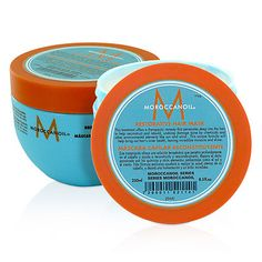 Moroccan Oil Restorative Hair Mask -- My hairdresser's directions: Put on dry hair all over, wait 60 mins. Then rinse the mask out, shampoo and towel dry. My hair looks and feels so incredibly healthy! Hair Scalp, Dry Hair, Moroccan Oil Hair Mask, Morrocan Oil, Blond, Argan Oil Hair Mask, Damaged Hair, Hair Hacks, Hair Tips