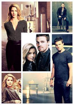 Arrow - #Olicity promotional photos