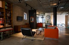I do like this mid century decorated loft though.