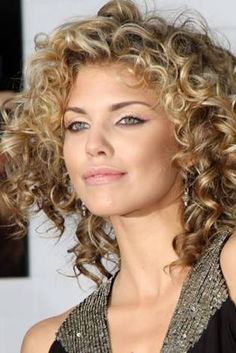Image result for hair styles for curly hair
