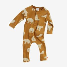 Super cute polar bear romper