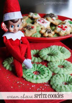 Spritz Wreath Cookies on Pinterest | Spritz Cookies, Cookie Press and ...