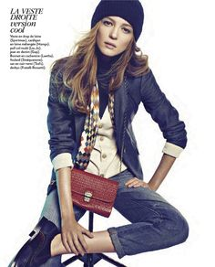 Marie Claire France, January 2013 #Fashion #editorial