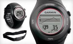 Tracking devices for health and fitness training are becoming increasingly popular as technology allows us to monitor our statistics more and more easily. Whether it's pedometers, digital scales, or sports watches and heart rate monitors, we can monitor our physical performances more and more accurately. The Garmin Forerunner 410 is a GPS sports watch that's designed to give you all the data you need to improve your running and cycling times.
