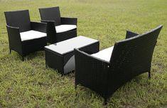 TG-17162 4 PCS rattan sofa sets from trygo