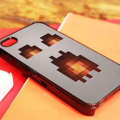 Ghast Face Minecraft iPhone 4/4S, iPhone 5/5S/5C, and iPhone 6 Cases - Alec's Garage , http://www.myicover.nl ☻. ☻ ☺ ☂
