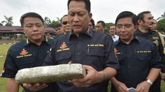"""Indonesia's anti-narcotics chief wants to imitate Philippines' style of the drug war. Budi Waseso praised Mr Duterte and said drug dealers' lives were """"meaningless""""."""