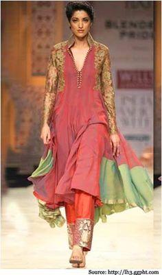Designer Anarkali suit by Manish Malhotra