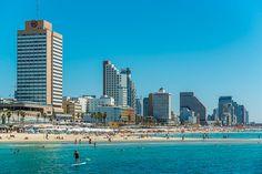 Gordon beach Tel Aviv  Israel by OrManyFineArt on Etsy