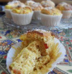 The English Kitchen: Rhubarb and Custard Muffins