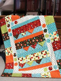 On The Move Quilt Pattern
