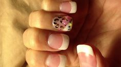 My Hello Kitty Leopard Nails
