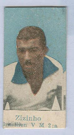 """Sports Card Forum - Top 50 Football Cards (Mostly Vintage) : #20. 1950 Tinghälls Zizinho. Pelé once called Zizinho the best player he had ever seen. """"He was a complete player. He played in midfield, in attack, he scored goals, he could mark, head and cross."""" Zizinho won three Brazilian championships with Flamengo in the early 1940s and came in fourth place in the IFFHS Brazilian Player of the Twentieth Century voting. This is the only set that the great Zizinho appears in."""