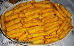 Ecetes sajtos rúd recept fotóval