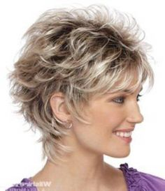 Industrious Strongbeauty Short Soft Shaggy Layered Full Synthetic Wig Brown Highlights Curly Womens Synthetic Wigs Synthetic Wigs