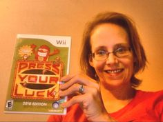 I got this WII Press Your Luck Game on DealDash.com for $1.95 and free shipping! I saved over 97% off retail price. I grew up watching this game show and love it. I have memory loss from a health issue and I believe stimulating my mind helps improve this.