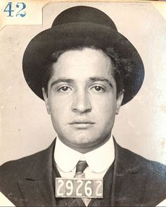Young Jack Dragna, future head of the Los Angeles crime family and rival to Bugsy Siegel and Mickey Cohen.
