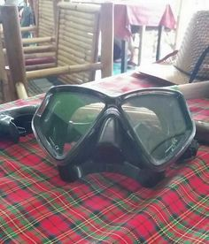 Upaasna is all set for snorkeling!